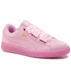 Puma Sneakers Suede Heart Reset Wn's 363229 02 Prism Pink/Prism Pink [Sale]