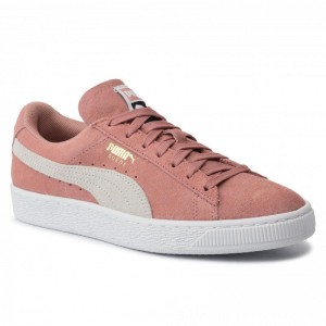 Puma Sneakers Suede Classic Wn's 355462 56 Cameo Brown/Puma White [Outlet]