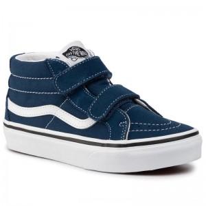 Vans Sneakers Sk8-Mid Reissue V VN0A38HHT2S1 Gibraltar Sea/True White [Outlet]