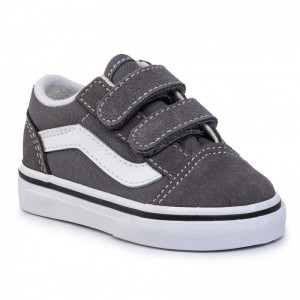 Vans Turnschuhe Old Skool V VN0A38JN1951 Pewter/Truwhite [Outlet]