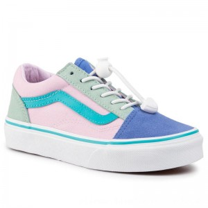 Vans Turnschuhe Old Skool VN0A4BUUTZ41 (Toggie Lc) Clrblckultrmnrn [Outlet]