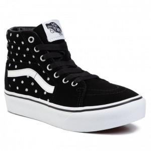 Vans Sneakers Sk8-Hi Platform 2 VN0A4P3STCB1 (Suede Polka Dot) Blktrwht [Outlet]