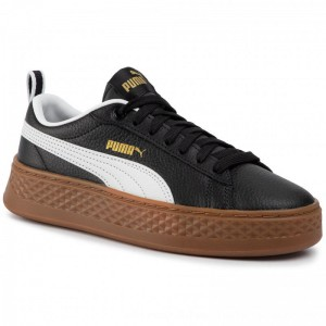 Puma Sneakers Smash Platform Vt 366926 03 Black/Puma White [Outlet]