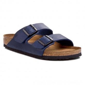 Birkenstock Pantoletten Arizona 051061 Blau [Sale]