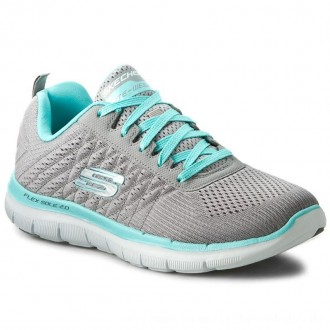 Skechers Schuhe Break Free 12757/GYLB Gray/Light Blue