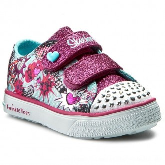 Skechers Sneakers Pop-Tastic 10608N/TQHP Turq/Hot Pink