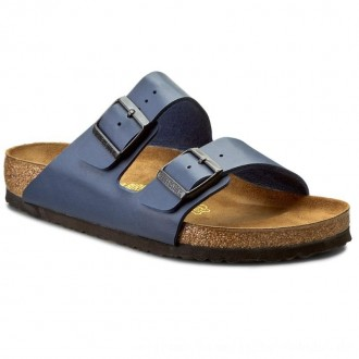 Birkenstock Pantoletten Arizona 0051751 Blue [Outlet]
