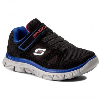Skechers Halbschuhe Flex Advantage 95526L/BKRY Black/Royal