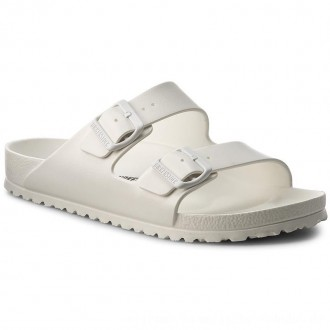 Birkenstock Pantoletten Arizona 0129441 White [Outlet]