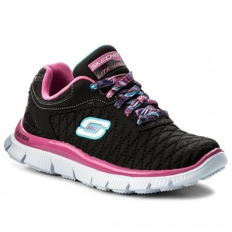 Skechers Sneakers Eye Catcher 81844L/BKHP Black/Hot Pink