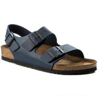 Birkenstock Sandalen Milano 0034751 Blue [Sale]