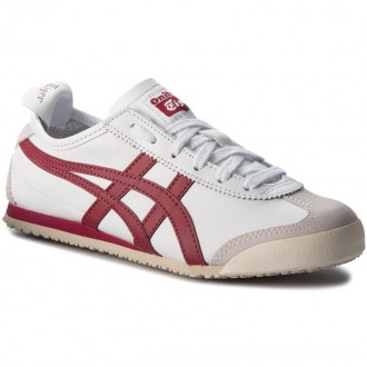 Asics Sneakers ONITSUKA TIGER Mexico 66 D4J2L White/Burgundy 0125 [Outlet]