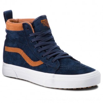 Vans Sneakers Sk8-Hi Mte VN0A33TXUCB (Mte) Suede/Dress Blues [Outlet]