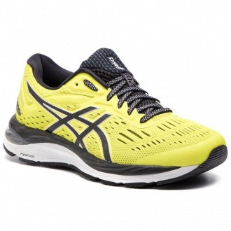 Asics Schuhe Gel-Cumulus 20 1011A008 Lemon Spark/Black 750 [Outlet]