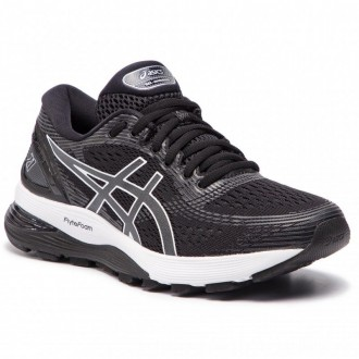 Asics Schuhe Gel-Nimbus 21 1012A156 Black/Dark Grey 001 [Outlet]