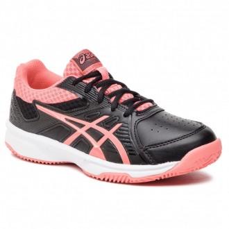 Asics Schuhe Court Slide Clay Gs 1044A006 Black/Papaya 009