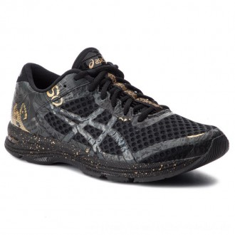 Asics Schuhe Gel-Noosa Tri 11 1011A631 Black/Rich Gold 001 [Outlet]