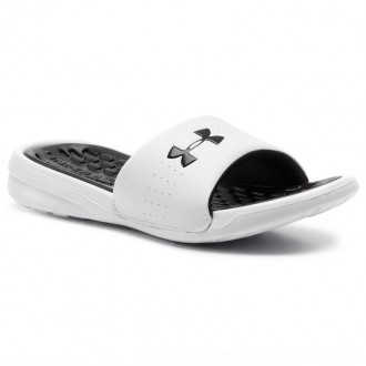 Under Armour Pantoletten Ua W Playmaker Fix Sl 3000063-101 Wht