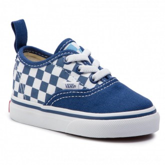 Vans Turnschuhe Authentic Elastic VN0A38E8VDX1 (Checkerboard) True Navy