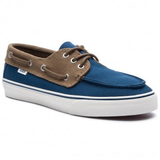Vans Turnschuhe Chauffeur Sf VN0A3MUBVLN1 Sailor Blue/Breen [Outlet]