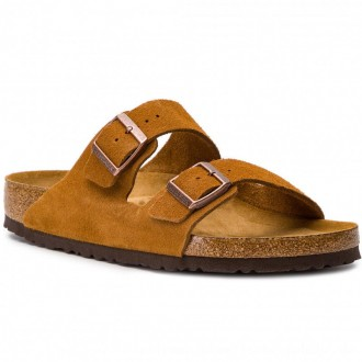 Birkenstock Pantoletten Arizona Bs 1009526 Mink [Outlet]