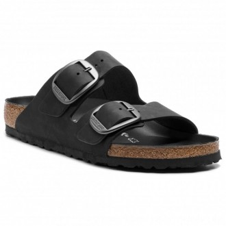 Birkenstock Pantoletten Arizona Big Buckle 1012204 Black [Outlet]