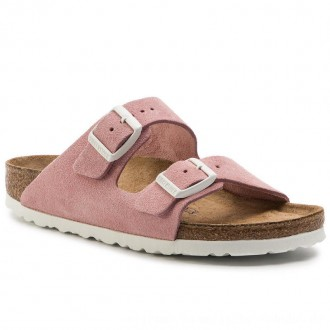 Birkenstock Pantoletten Arizona Bs 1012830 Rose [Outlet]