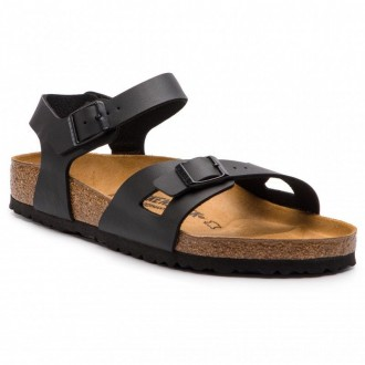 Birkenstock Sandalen Rio Bs 0031791 Black [Outlet]