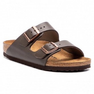 Birkenstock Pantoletten Arizona Bs 0051103 Dark Brown [Outlet]