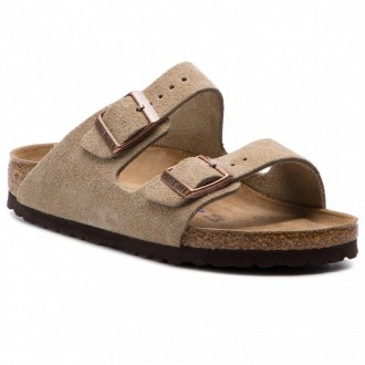 Birkenstock Pantoletten Arizona Bs 0951303 Taupe [Outlet]