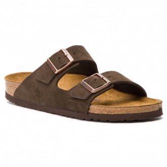Birkenstock Pantoletten Arizona Bs 0951313 Mocha [Outlet]