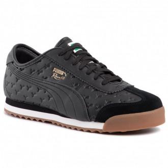 Puma Schuhe Roma '68 Gum 370600 01 Black/Puma Black [Outlet]