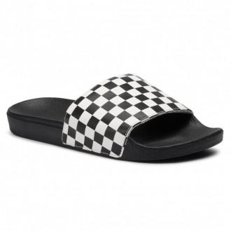 Vans Pantoletten Slide-On VN0004KIIP91 (Checkerboard) White [Sale]