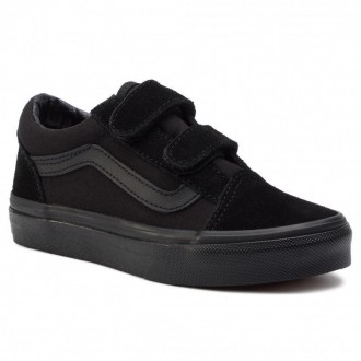Vans Turnschuhe Old Skool V VN000VHEENR1 Blk/Blk [Outlet]