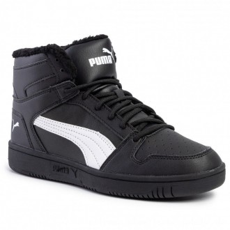 Puma Sneakers Rebound Layup Sl Fur 369830 01 Black/Puma White [Outlet]