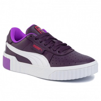 Puma Sneakers Cali Chase Wn's 369970 01 Plum Purple/Nrgy Rose