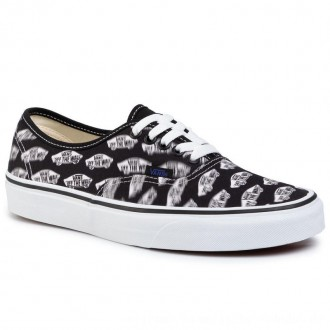 Vans Turnschuhe Authentic VN0A2Z5IT2N1 Blk/Royal Bl [Outlet]