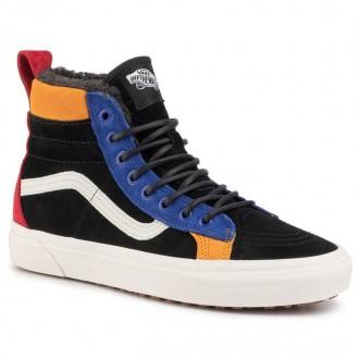 Vans Sneakers Sk8-Hi 46 Mte Dx VN0A3DQ5T3X1 Black/Surf The Web [Sale]