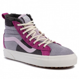 Vans Sneakers Sk8-Hi 46 Mte Dx VN0A3DQ5TU91 (Mte) Lilac Grey/Obsidian [Outlet]