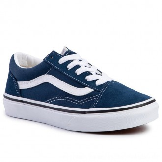 Vans Turnschuhe Old Skool VN0A4BUUT2S1 Gibraltar Sea/True White [Outlet]