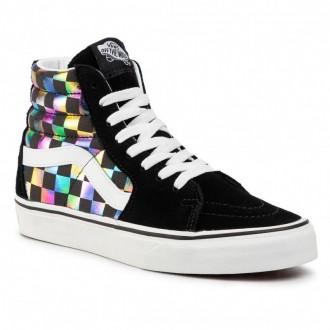 Vans Sneakers Sk8-Hi VN0A4BV6SRY1 (Iridescent Check) Blktrwt [Outlet]