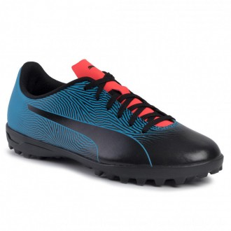 Puma Schuhe Spirit II TT 105523 01 Black/Bleu Azur/Red Blast [Outlet]