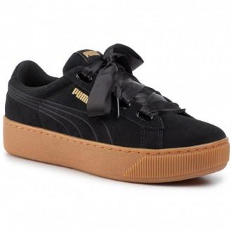 Puma Sneakers Vikky Platform Ribbon 364979 01 Black/Puma Black [Outlet]