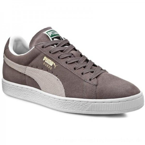 Puma Sneakers Suede Classic + 352634 66 Steeple Gray/White [Outlet]