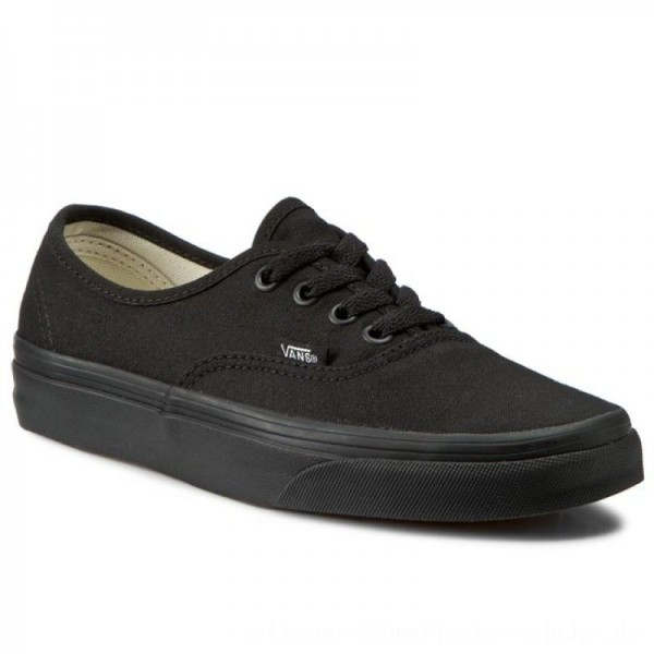 Vans Turnschuhe Authentic VN000EE3BKA Black/Black [Outlet]