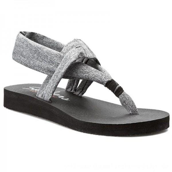 [BLACK FRIDAY] Skechers Sandalen Studio Kicks 38615/GRY Gray