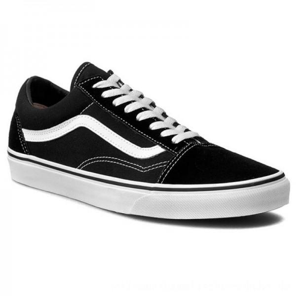 Vans Turnschuhe Old Skool VN000D3HY28 Black/White [Outlet]
