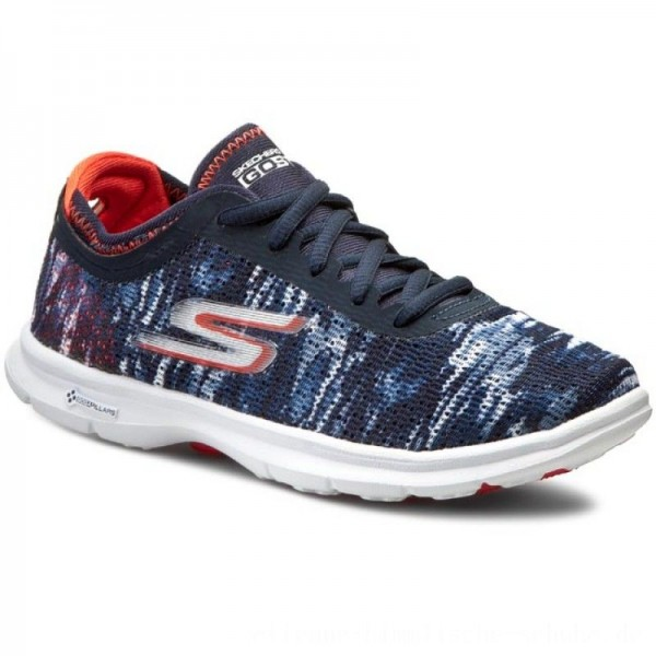 Skechers Schuhe Go Step 14200/NVCL Navy/Coral [Outlet]