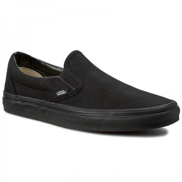 Vans Turnschuhe Classic Slip-On VN-0EYEBKA Black [Sale]