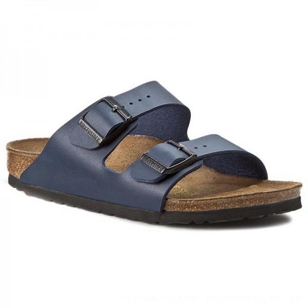 Birkenstock Pantoletten Arizona 051753 Blau [Outlet]